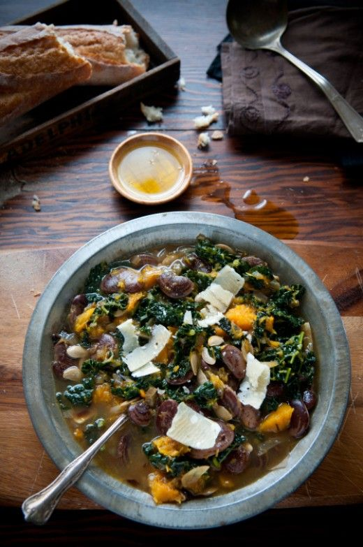 Stunning Pumpkin and Kale Stew #Recipe #food #recipe #cooking