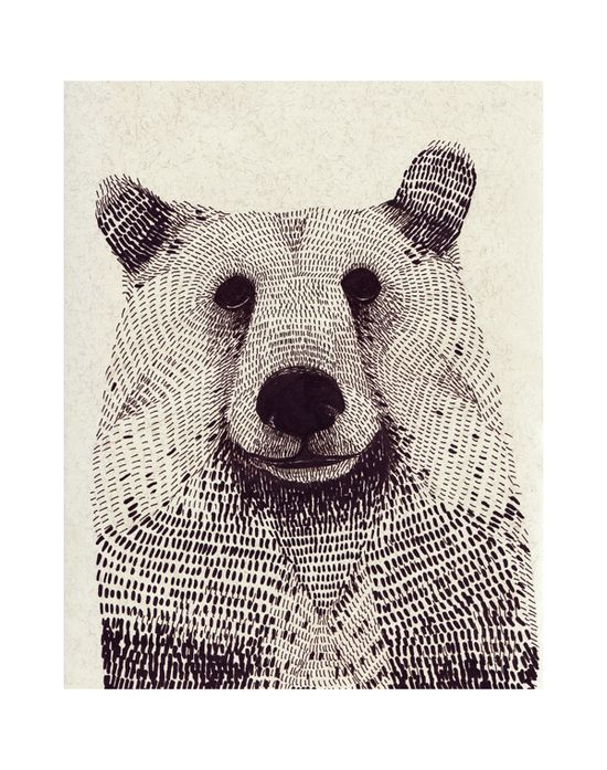 animals by Olga Gamynina, via Behance
