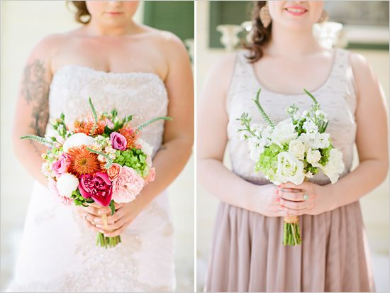 pretty bridesmaid/bridal bouquets (different colors for me though)