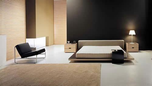 modren bed room