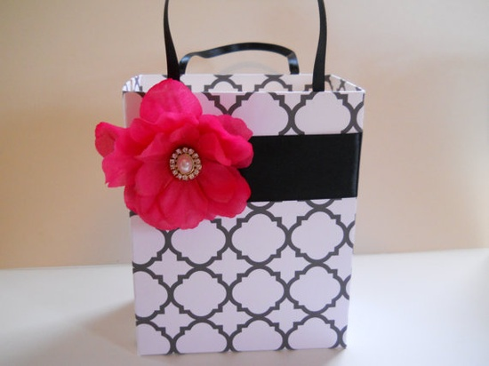 Unique handmade gift bag great for bridal party by steppnout, $4.50