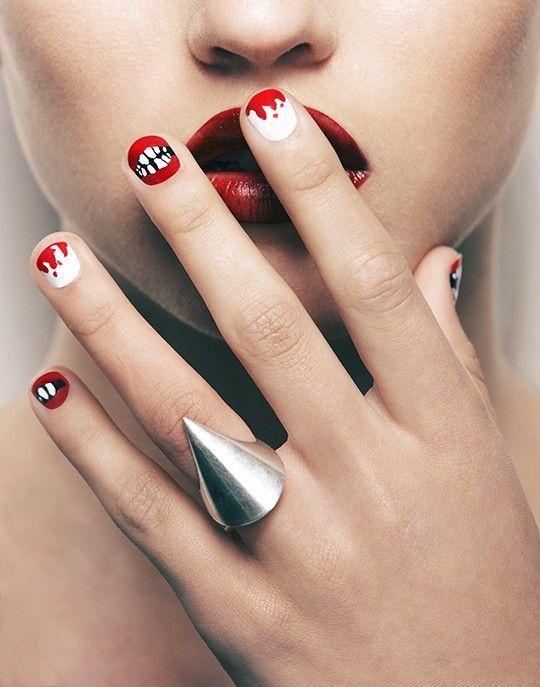 Halloween Nails: