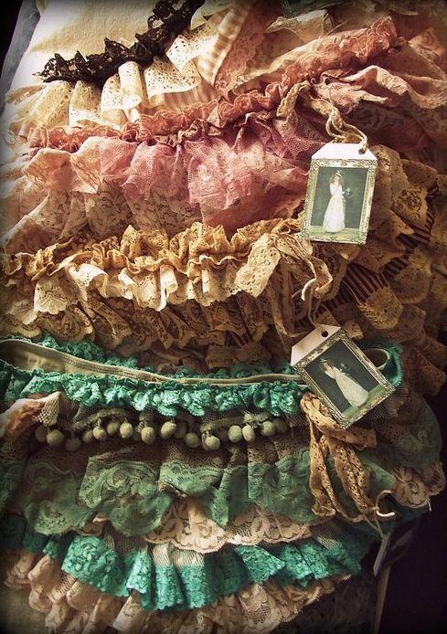 antique lace...