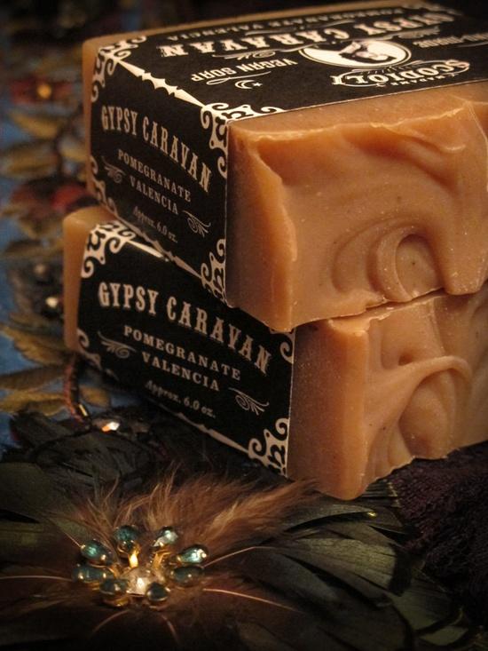 Gypsy Caravan Soap Bar. I want.