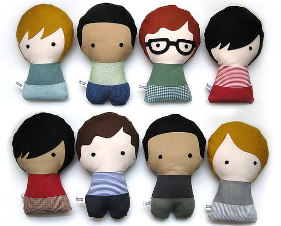 Personalized Stuffed Fabric Doll by citizenscollectible