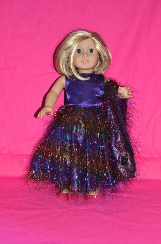 American Girl Doll Evening Gown. $18.99, via Etsy.