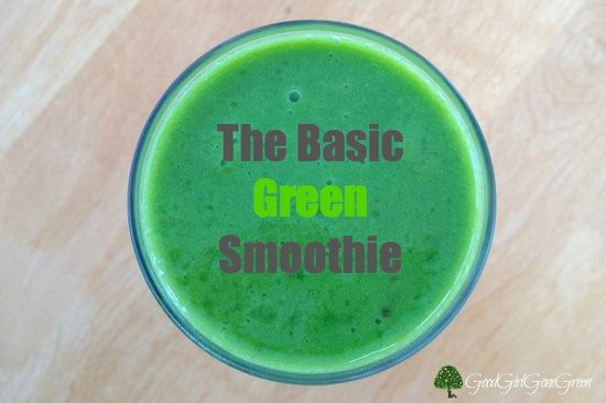 The Basic Green Smoothie