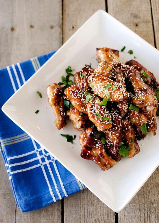 sweet+sticky wings / bakedbree