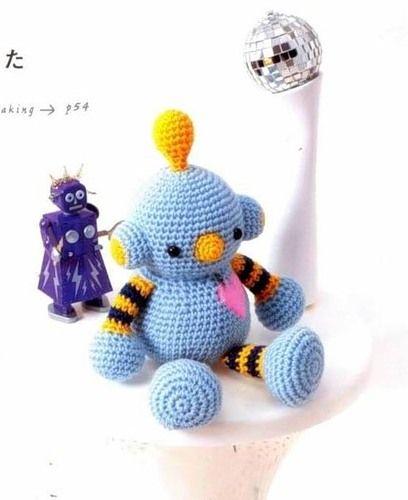 Crochet Amigurumi free pattern robot