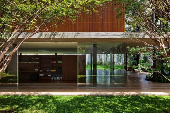 Architecture Designs, Inspiring Retractable Glass Doors: The Inspiring Toblerone House