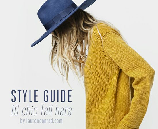 Style Guide: 10 Chic and Affordable Fall Hats
