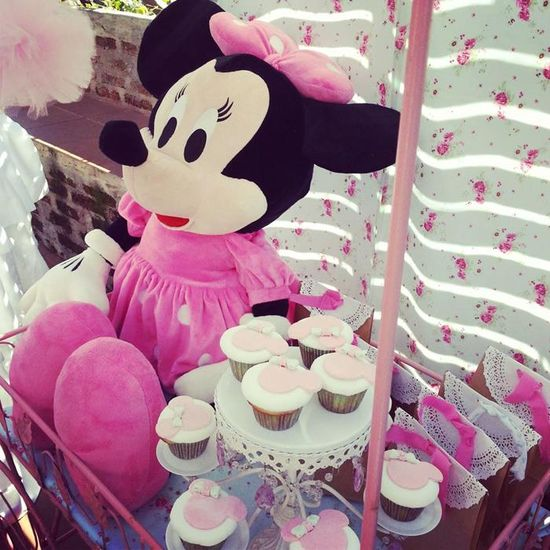 Shabby Chic Minnie Mouse Party with Lots of REALLY CUTE Ideas via Kara's Party Ideas