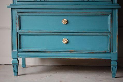 painting furniture tutorial