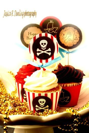 Pirate Birthday Party from Hostess with the Mostess