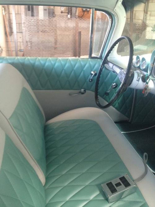 1960  car interior