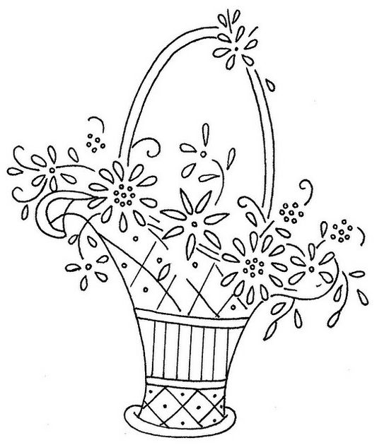 flower basket 3 by love to sew, via Flickr