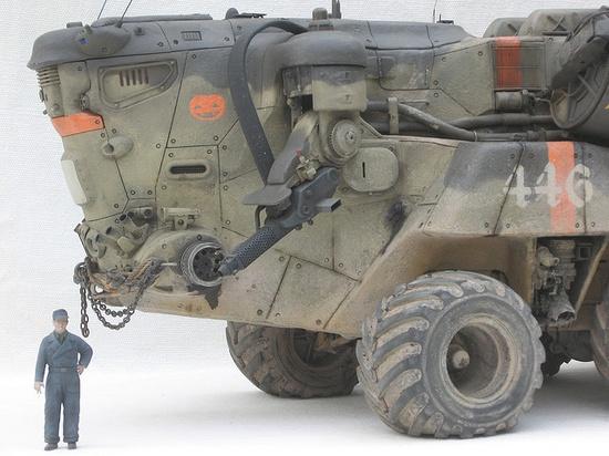 Military Vehicle, Mark Stevens