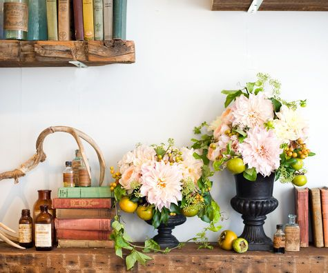 from flowers to fashion with poppies and posies  Read more at Design*Sponge www.designspongeo...