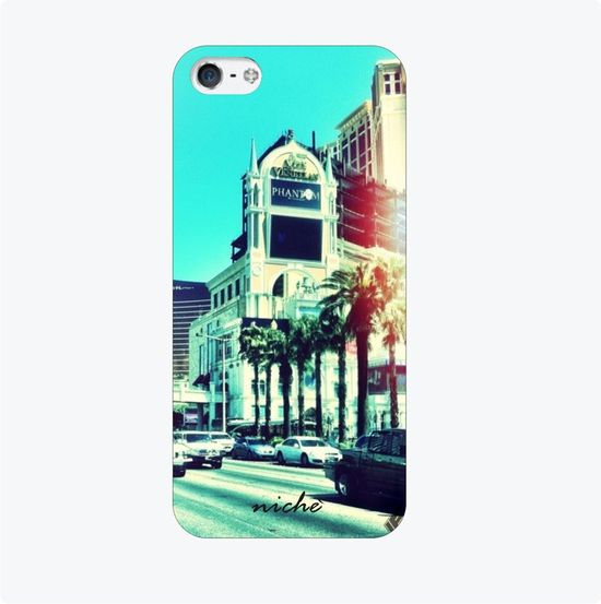 blue city iphone cover
