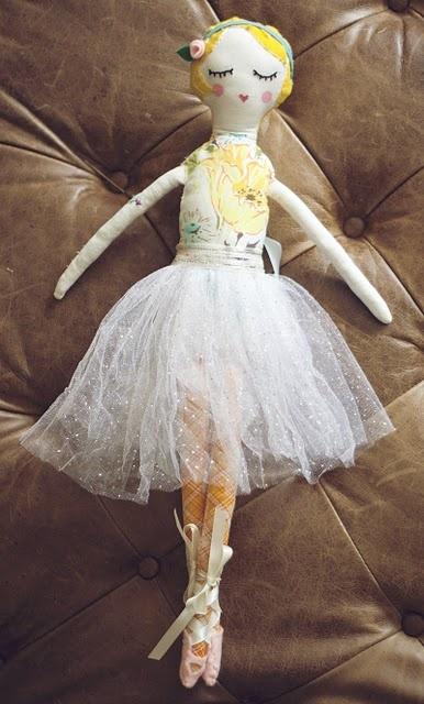 Pretty Little Handmade Doll