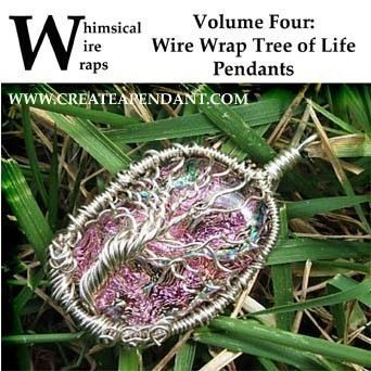 Wire Wrap Tree of Life Sculpture Pendant Jewelry Instructional Lesson Technique Tutorial DVD by Nixcreations, $19.99