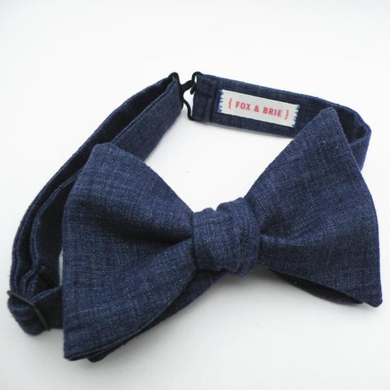 Denim Chambray (bow tie).