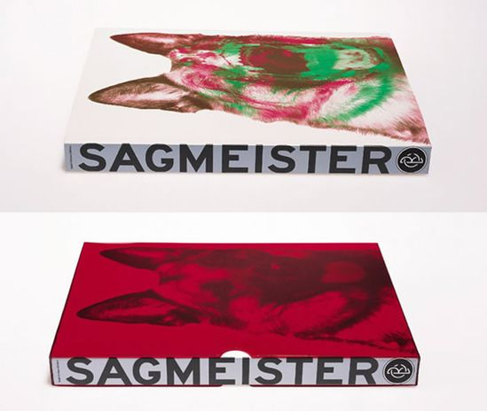 "Stefan Sagmeister - 3D book cover of ""Sagmeister: Made You Look,"""