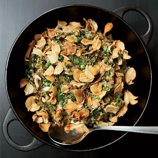 Glossy Mushroom Rice // More Recipes with Porcini Mushrooms: www.foodandwine.c... #foodandwine