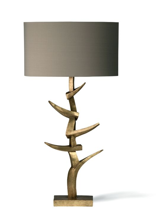 LUXE Gold Art Metal Lamp Courtesy of InStyle-Decor.com Beverly Hills Inspiring & supporting Hollywood interior design professionals and fans, sharing beautiful luxe home decor inspirations, trending 1st in Hollywood Repin, Share & Enjoy