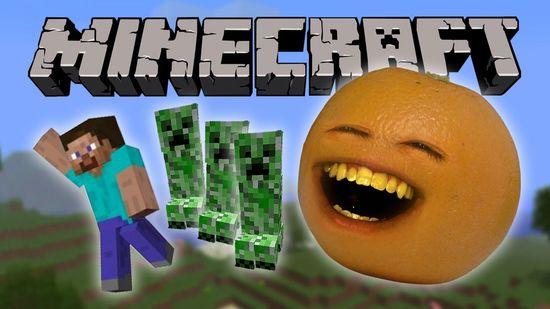 Annoying Orange - Annoying Orange Vs. Minecraft
