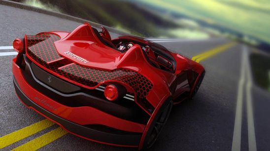Ferrari electric millenio_05 #car #design #engine #industrialdesign #automobiles #automotiveindustry #machine #mechanic #vehicle #driving #muscle #aggresive #sportscar #fast #technic #photo #colour #carmodels