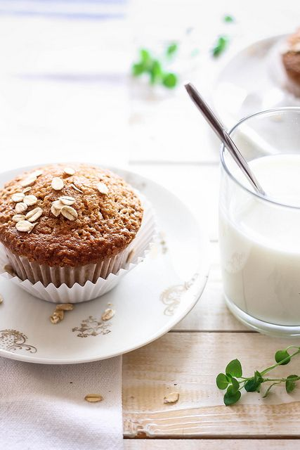 Oat Muffins by Marcello.Arena, via Flickr