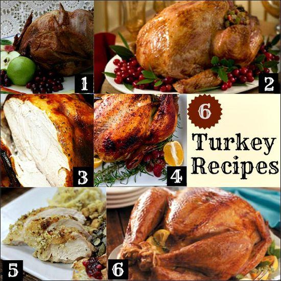 6 Turkey Recipes for Thanksgiving Dinner