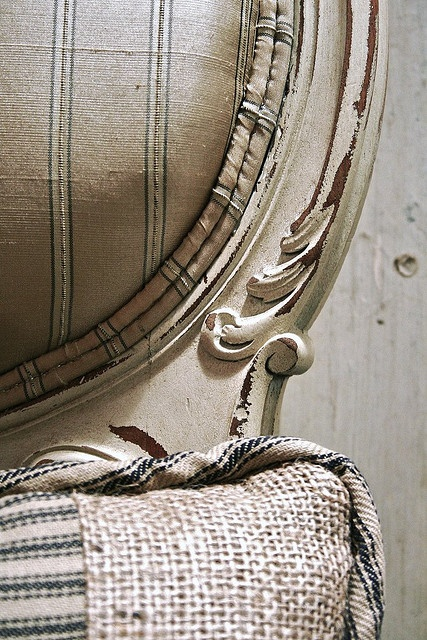 Silk and burlap meet by Elizabeth's Point of View, via Flickr
