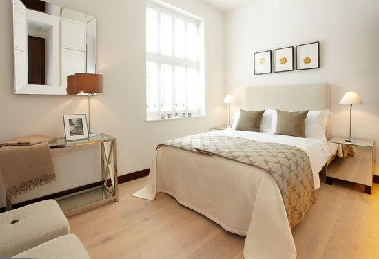 Contemporary bedroom design in London by Landmass London