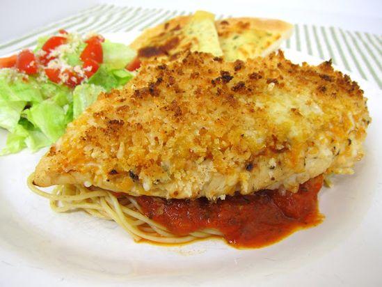 Grilled Chicken Parmesan