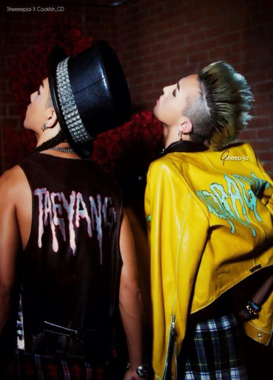 Taeyang and GD