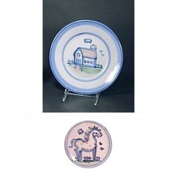 Plate 8 Inches, Horse Pattern by Hadley Pottery. $18.75