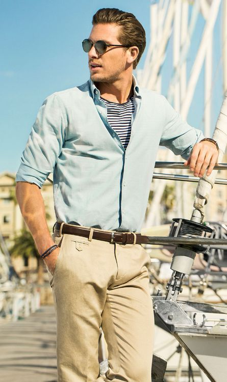 Summer Street Style Fashion for Men