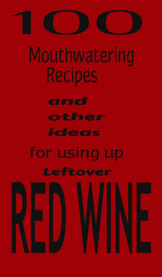 LEFTOVER RED WINE – if you should ever have any leftover red wine (I completely understand if you don't) there are tons of places it can end up and the least likely, (but true) is your freezer! So here's to leaving a little behind to see what cooking with wine out of the glass is all about!