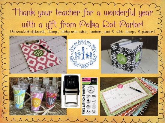 End of the year Teacher Gifts!