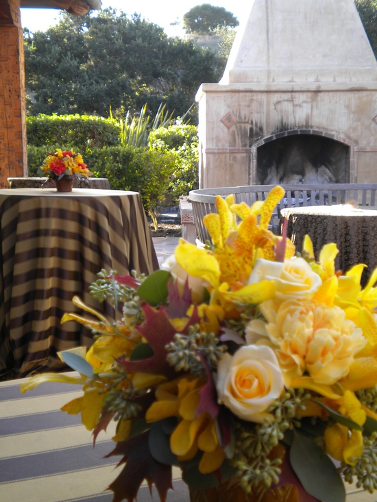 Autumn at Pasadera Created by; Connie J Moore Floral Design