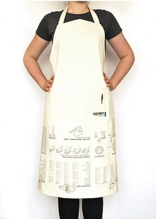 Suck UK Apron cooking guide - hardtofind. #staff  #cooking guide #art of cooking #cuisine #food #recipes cooking