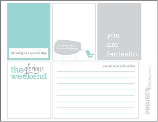 Tons of fabulous PL journaling cards here ?