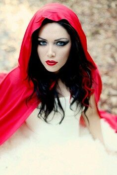 Halloween costumes - little red riding hood