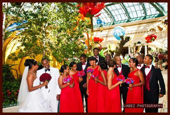Image of African wedding photo