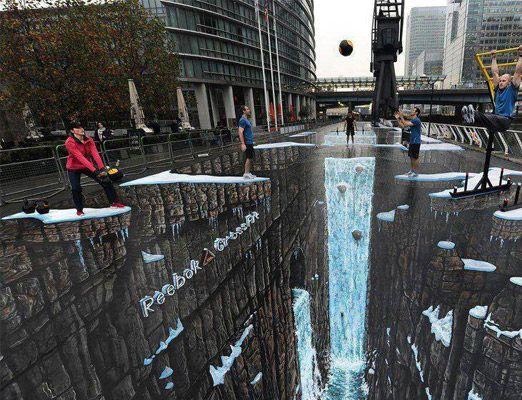 10 Amazing 3D Street Paintings - Uphaa.com