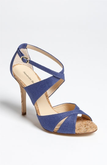 Alexandre Birman Linen Sandal available at Nordstrom