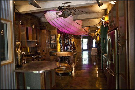 Steampunk Kitchen!!! #Decorating