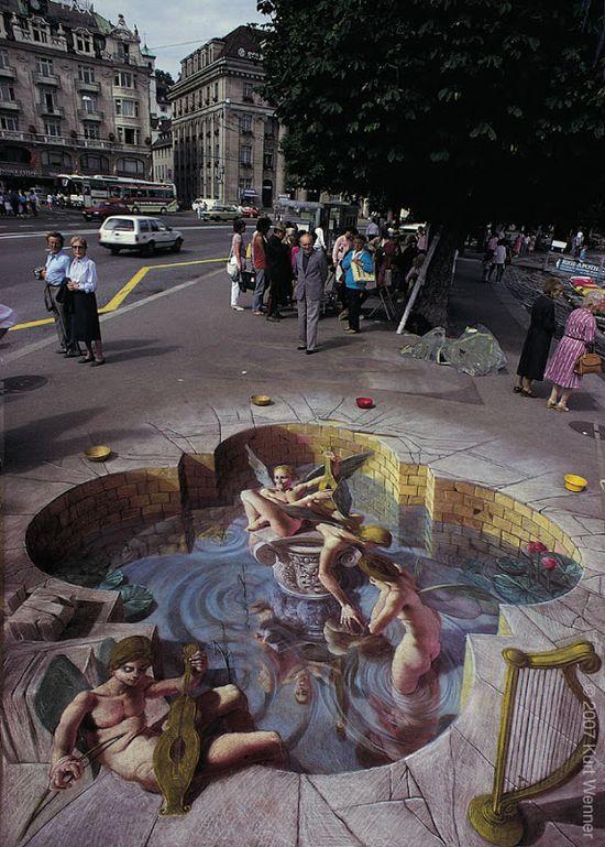 Stunning 3D Street Art